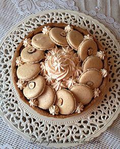 tarte macaron noisette