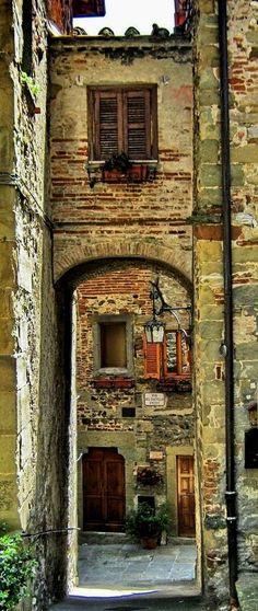 Anghiari, Provincie Arezzo, Toscane, Italië
