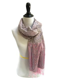 Pashmina Scarf Pink Scarf Pashmina Shawl Gift For Her Pashmina Wrap Fashion Accessories Mothers Day Pashmina Scarves Women Scarf Gift Ideas
