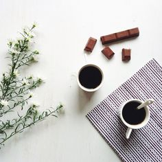✿ Coffee and Chocolate ✿