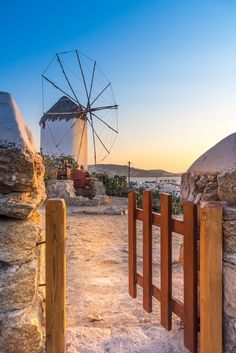 Mykonos, Greece Photo by Stavros Argyropoulos — National Geographic Your Shot #mykonos #windmill #sunset #landscape #greece #cyclades