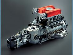 FERRARI ENGINE , TRANSMISION