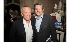 """Co-authors Bridget Moynahan and Wendy Howard Goldberg celebrated the launch of """"The Blue Bloods Cookbook"""", a tome featuring over 100 recipes inspired by hit CBS police drama """"Blue Bloods."""" Pictured here: Wolfgang Puck, Ted Sarandos."""