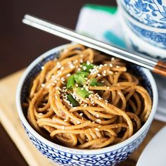 Cold Spicy Peanut Sesame Noodles - Table for Two®