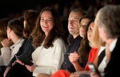 Tag 3 auf der FashionWeekBerlin: Natalia Wörner und Heino Ferch haben Spaß bei Laurel