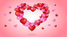 Serce, Walentynki, Czerwone, Różowe, Serduszka