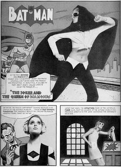 BAT - BLOG: BATMAN speelgoed en collectibles: Groovy Sixties Mod Fashion Model Fotografie 1960
