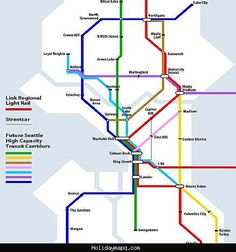 nice Seattle Subway Map