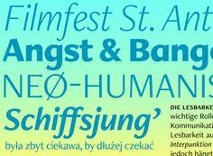 Freight Neo http://www.fontshop.com/fonts/family/freight_neo/ ist eine freundliche, humanistische Sans mit spannenden Kontrasten. Ihre Light- und Bold-Schnitte eignen sich hervorragend für Magazin- oder Zeitungs-Headlines sowie Poster und Buchcover. Die Book- und Medium-Schnitte sind abgestimmt auf lange Lesetexte. Freight Neos humanistisches aber verbindliches Design passt auch vorzüglich zu Produkten aus den Bereichen Kosmetik, Pharma und Mobility.