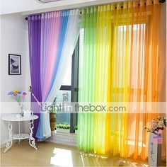 200*100cm Window Balcony Sheers Curtain Panel Voile Curtains 2015 – $26.99