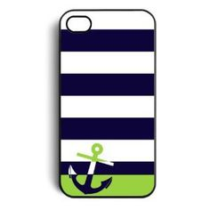Amazon.com: Navy Sailor Anchor Snap on Case Cover for Apple Iphone 4 Iphone 4s Cellphone Case: Cell Phones & Accessories