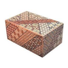 Japanese puzzle boxes encourage inquiry and mental agility.