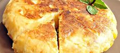 Omelette au Four Baked Omelette, Omelette Recipe, Vegan Recipes, Cooking Recipes, Oven Baked, Coco, Cornbread, Food To Make, Food And Drink