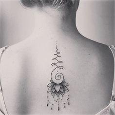 Resultado de imagem para unalome tattoo
