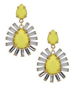 ABS Daisy Teardrop Earrings