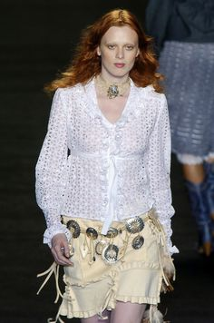 Anna Sui at New York Spring 2005