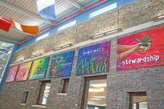 elementary school foyer design - Google Search