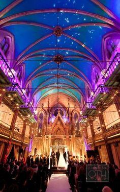 holy mother.  that is magnificent.  praise be for lighting.  Wedding Venue: Angel Orensanz Foundation in New York, New York