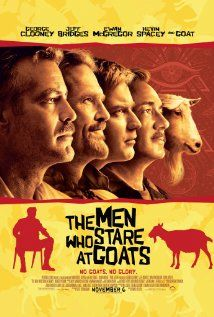 The Men Who Stare at Goats Funny funny funny - Clooney is the master of this style of self-effacing comedy - loved every minute.