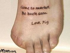 This Little Piggy funny picture