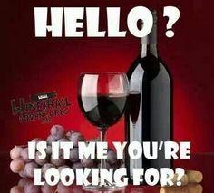 YES IT IS! Wine Funny! I ♡ wine. #wine #humor