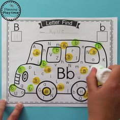 Fun Alphabet Activities for Preschool. Find and Dot the alphabet letters Letter Recognition activity. Worksheets have never been so fun. Work on Upper and Lower case letter recognition and Counting in this new Fall Pumpkin Alphabet Letter Find. Preschool Learning Activities, Letter Activities, Teaching Kids, Preschool Worksheets, Therapy Activities, All About Me Activities For Preschoolers, Letter H Activities For Preschool, 5 Year Old Activities, Preschool Word Walls