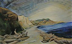 Emily Carr -Group of Seven-The Shoreline