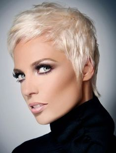 The Short Pixie Haircut For Summer Latest Short Hairstyles 2013 Short Thin Hair, Short Hair Cuts For Women, Short Hairstyles For Women, Cool Hairstyles, Short Blonde, Pixie Hairstyles, Cropped Hairstyles, Ash Blonde, Blonde Hairstyles