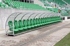 Kabiny dla zawodników rezerwowych, wiaty dla zawodników rezerwowych Sport Transfer
