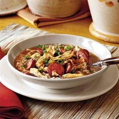 Chicken-and-Sausage Gumbo Recipe | MyRecipes.com