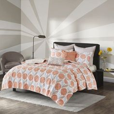 Shop for Urban Habitat Stella Coral Printed 7-piece Coverlet Set. Get free shipping at Overstock.com - Your Online Fashion Bedding Outlet Store! Get 5% in rewards with Club O!