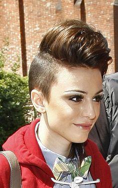 cher lloyd hair   PHOTOS: Cher Lloyd Rocks Shaved Hair Look - PopDash