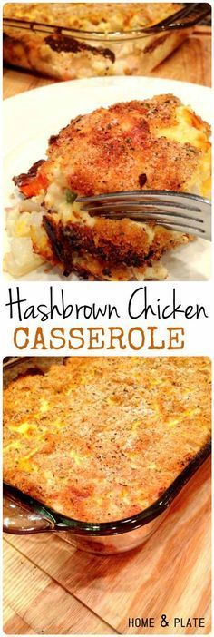 Hashbrown Chicken Casserole   15 Savory Chicken Casserole Recipes to Feed the Whole Family   Easy To Make And Satisfyingly Delicious Homemade Recipes by Pioneer Settler at pioneersettler.co...
