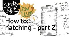 In last week's Draw Tip Tuesday, Sketchbook Skool co-founder Koosje Koene taught you the basics of hatching. This week, it's the sequel: Hatching II in 3-D! Our video's not in 3-D, but what Koosje teaches you in…