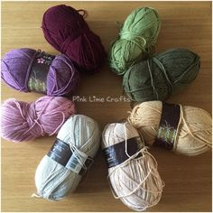 Good morning everyone. I'm in the mood to start a new blanket and have chosen these colours. I just need to decide between granny squares or C2C  #crochet #stylecraftspecialdk #startofanewblanket