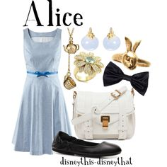 Alice, created by disneythis-disneythat on Polyvore