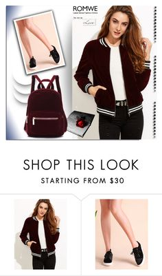 """ROMWE 1"" by melissa995 ❤ liked on Polyvore featuring Handle"