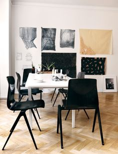 La maison d'Anna G.: The fashion designer's home