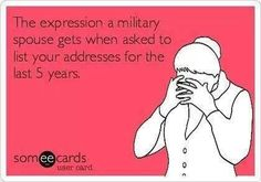Military wife problems :)