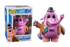 Buy Disney Inside Out Bing Bong Funko Pop! Vinyl from Pop In A Box UK, the home of Funko Pop Vinyl subscriptions and more. Pop Disney, Arte Disney, Disney Pixar, Bing Bong, Pop Vinyl Collection, Funko Pop Dolls, Funko Toys, Pop Figurine, Funk Pop