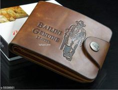 Checkout this latest Wallets Product Name: *Fashionable Trendy Men Wallet* Material: Leather No. of Compartments: 5 Pattern: Solid Multipack: 1 Sizes: Free Size (Length Size: 15 cm, Width Size: 12 cm)  Country of Origin: India Easy Returns Available In Case Of Any Issue   Catalog Rating: ★4 (13254)  Catalog Name: FashionableTrendy Men Wallets CatalogID_898156 C65-SC1221 Code: 741-5938661-312