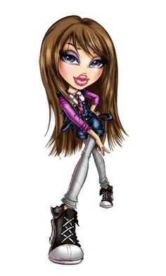 bratzillaz coloring pages online - photo#35