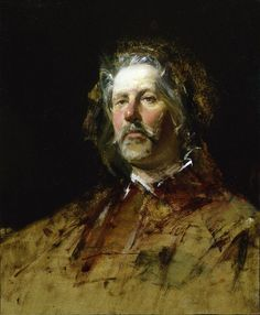 David Leffel Portrait of Frank Janca