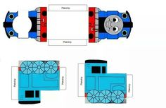 Thomas de trein traktatiedoosje, Thomas the train treat box Thomas Birthday Parties, Thomas The Train Birthday Party, Trains Birthday Party, Train Party, Birthday Party Favors, Race Car Party, Thomas And Friends, Friend Birthday, Kids Cards