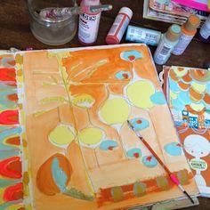 art journal inspiration - By pam garrison