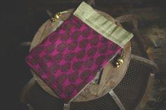 Indian Sari Fabric Tassel Bollywood Brocade Silk Gift by ZariLove, $3.90