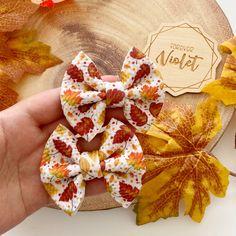 Autumn Leaves Bows - Piggie Bows