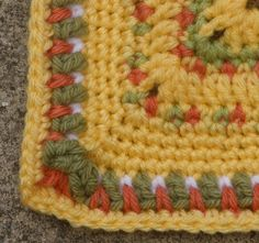 blanket border, free crochet pattern