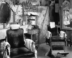 walker evans photos | Walker Evans , Negro Barbershop Interior, Atlanta, 1936