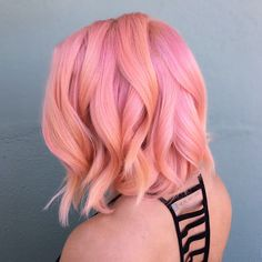 more pastel hair color ideas for you Sunset Hair, Pretty Hair Color, Hair Dye Colors, Coloured Hair, Dye My Hair, Grunge Hair, Great Hair, Pretty Hairstyles, Hairstyles Haircuts